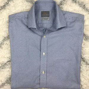 Thomas Dean long sleeve button down shirt